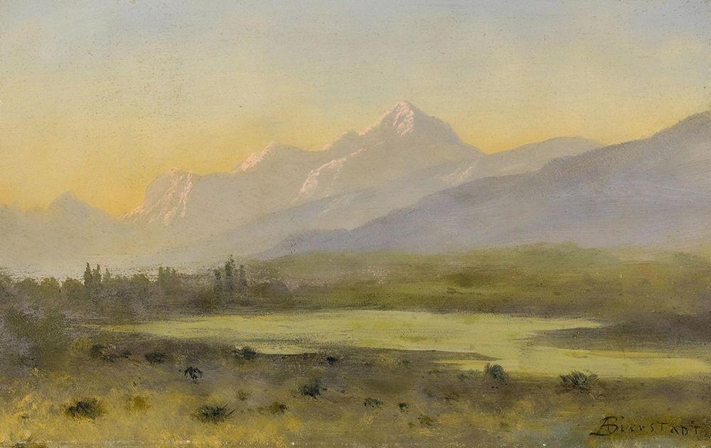 konfigurieren des Kunstdrucks in Wunschgröße Owens Valley, California von Bierstadt, Albert