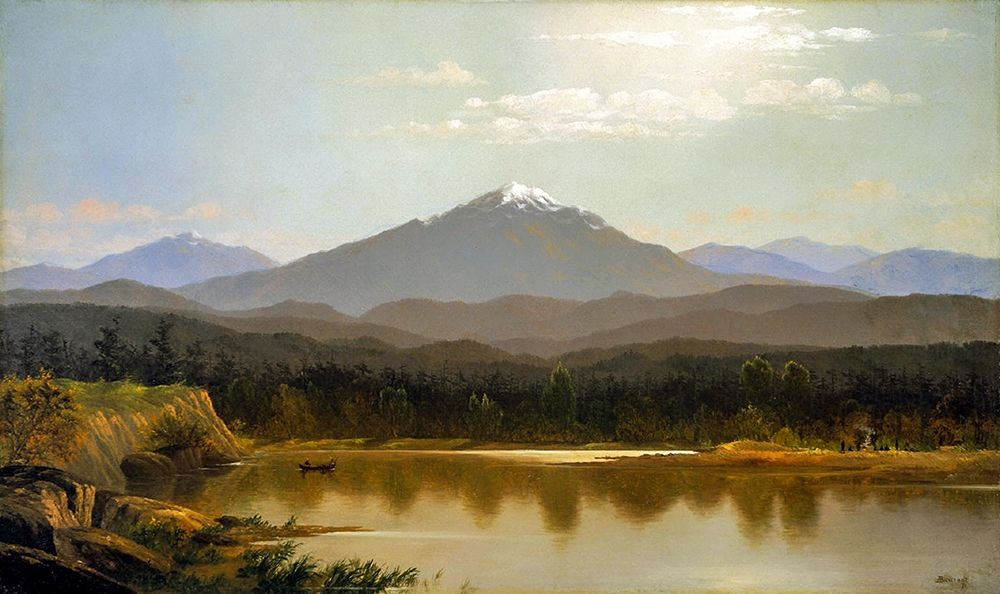 konfigurieren des Kunstdrucks in Wunschgröße Laramie Peak von Bierstadt, Albert