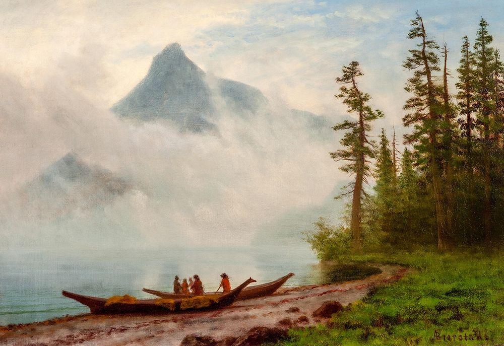 konfigurieren des Kunstdrucks in Wunschgröße Alaska von Bierstadt, Albert