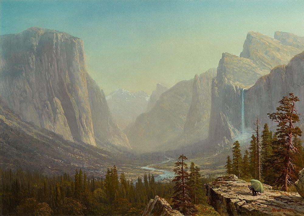 konfigurieren des Kunstdrucks in Wunschgröße Yosemite von Bierstadt, Albert