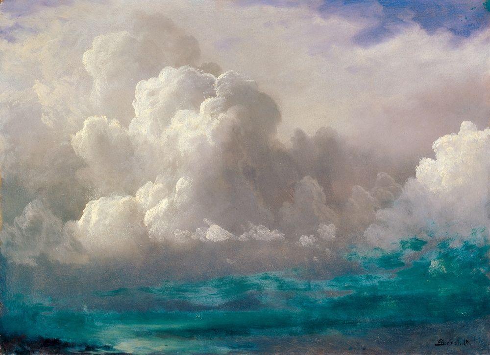 konfigurieren des Kunstdrucks in Wunschgröße Storm Clouds von Bierstadt, Albert