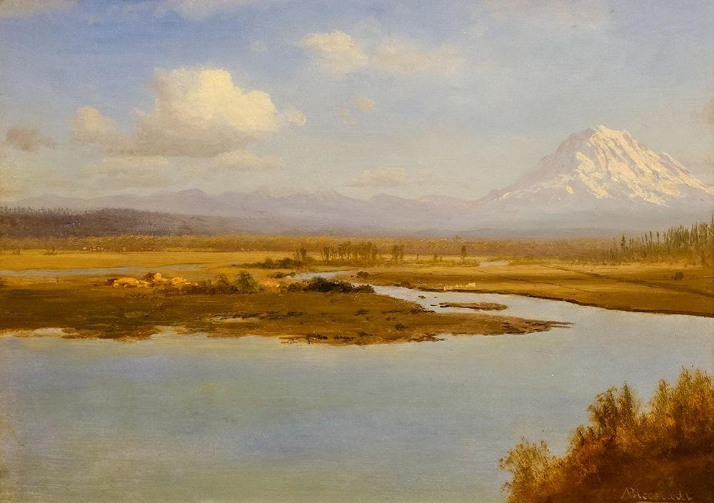konfigurieren des Kunstdrucks in Wunschgröße Mt. Hood, Oregon von Bierstadt, Albert