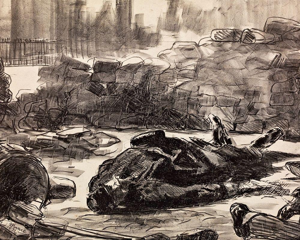 konfigurieren des Kunstdrucks in Wunschgröße Civil War von Manet, Edouard
