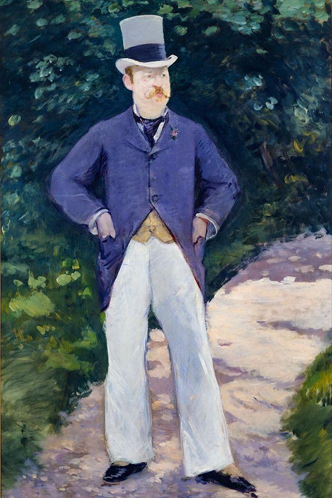 konfigurieren des Kunstdrucks in Wunschgröße Portrait of Monsieur Brun von Manet, Edouard