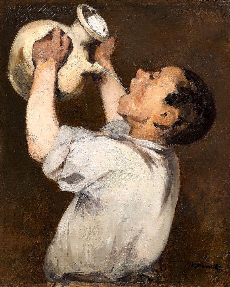konfigurieren des Kunstdrucks in Wunschgröße Boy with Pitcher von Manet, Edouard