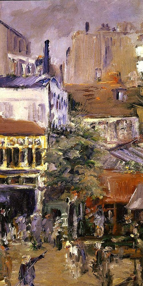konfigurieren des Kunstdrucks in Wunschgröße View taken near Place Clichy von Manet, Edouard