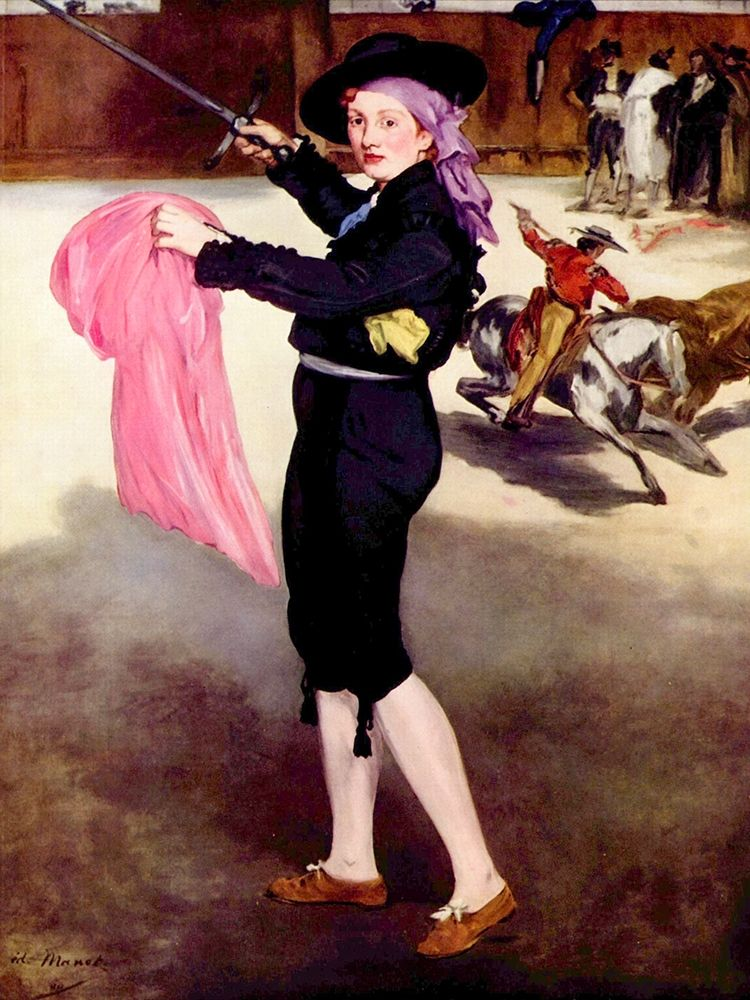 konfigurieren des Kunstdrucks in Wunschgröße Mademoiselle V. in the Costume of an Espada von Manet, Edouard