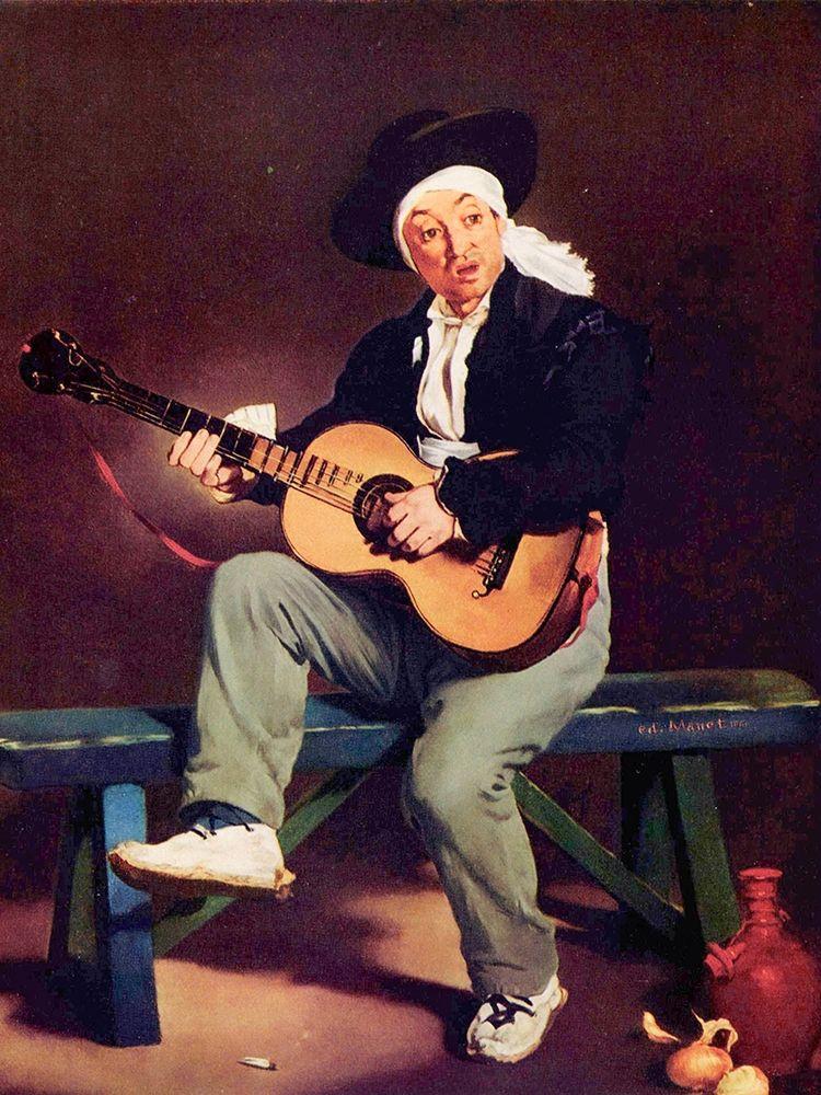 konfigurieren des Kunstdrucks in Wunschgröße The Spanish singer von Manet, Edouard