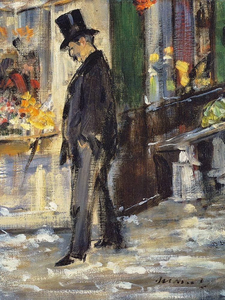 konfigurieren des Kunstdrucks in Wunschgröße Promeneur von Manet, Edouard