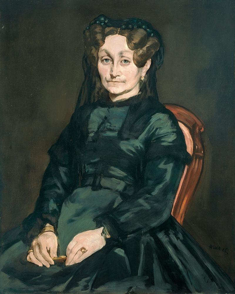 konfigurieren des Kunstdrucks in Wunschgröße Madame Auguste Manet von Manet, Edouard