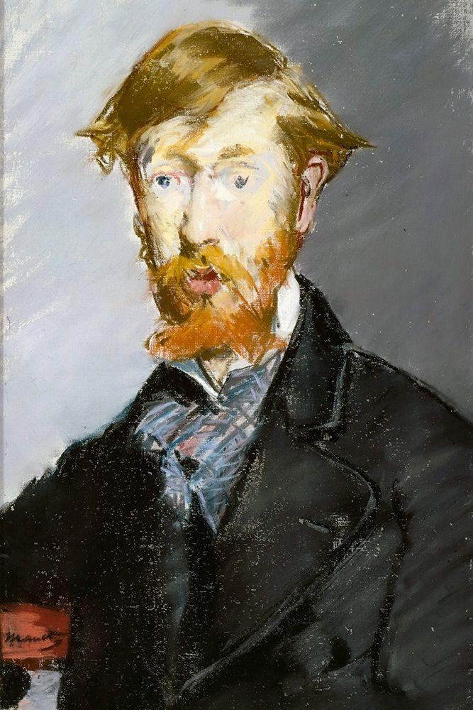 konfigurieren des Kunstdrucks in Wunschgröße George Moore von Manet, Edouard