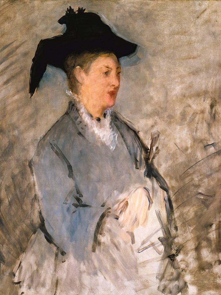 konfigurieren des Kunstdrucks in Wunschgröße Madame Edouard Manet┬á von Manet, Edouard