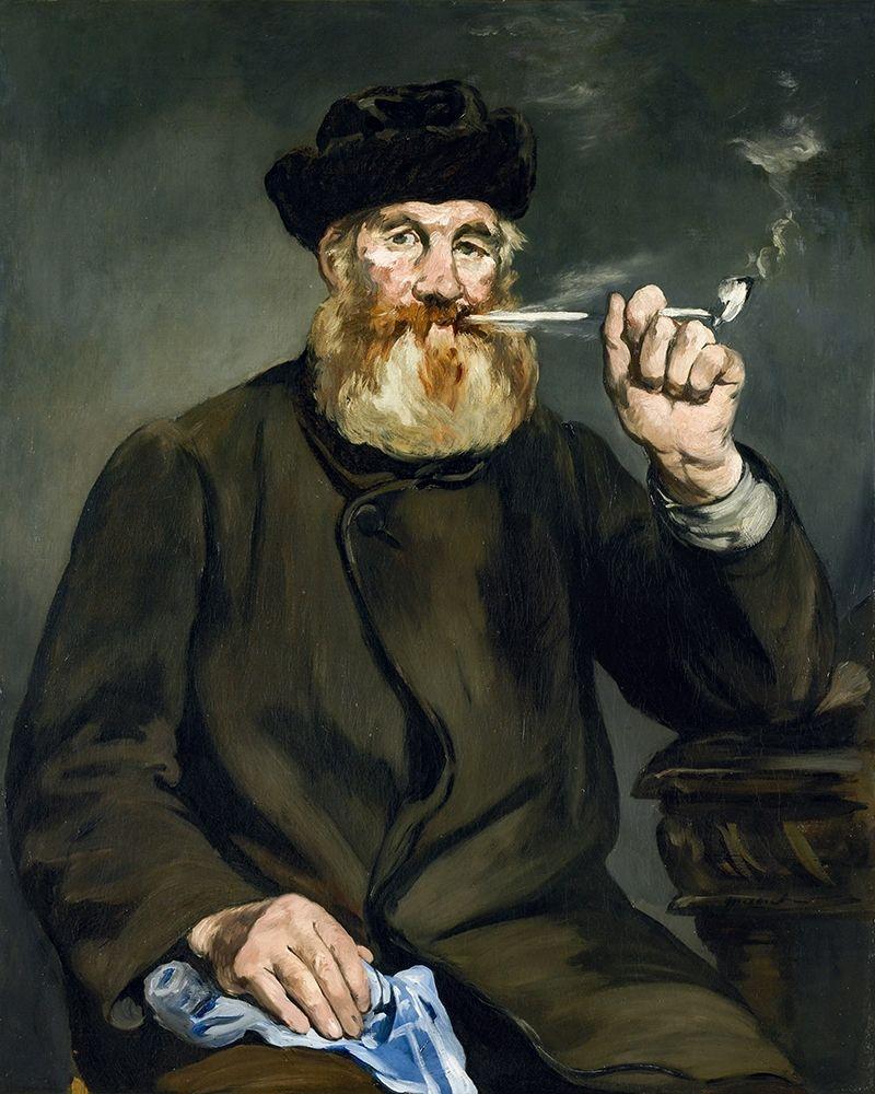 konfigurieren des Kunstdrucks in Wunschgröße The Smoker von Manet, Edouard