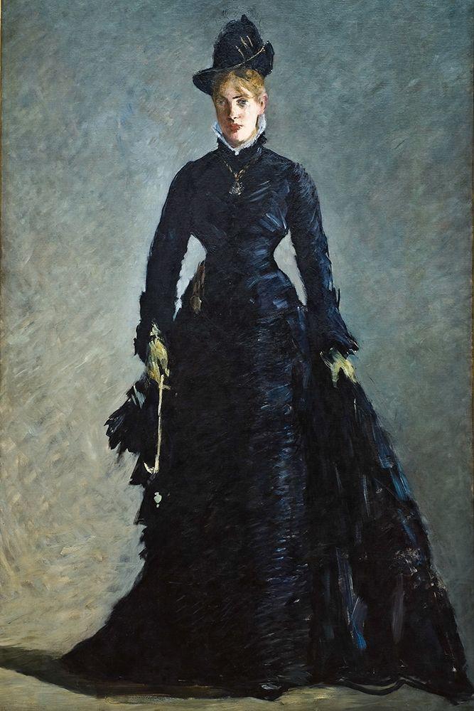 konfigurieren des Kunstdrucks in Wunschgröße A Parisian Lady von Manet, Edouard