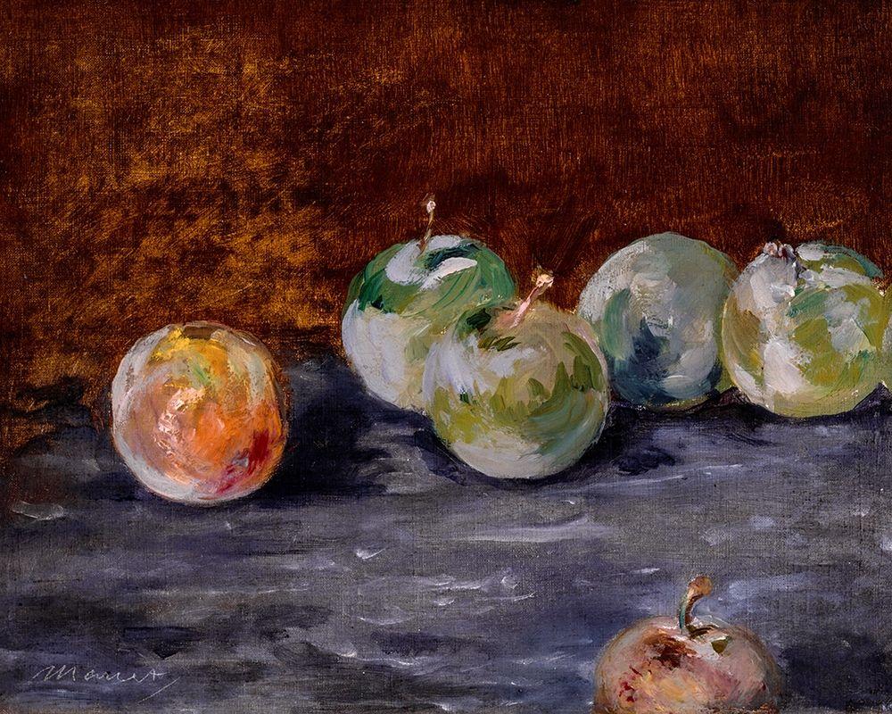 konfigurieren des Kunstdrucks in Wunschgröße Plums von Manet, Edouard