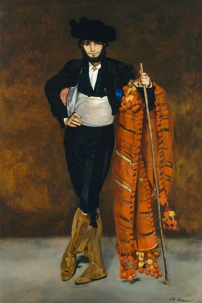 konfigurieren des Kunstdrucks in Wunschgröße Young man dressed as a majo von Manet, Edouard