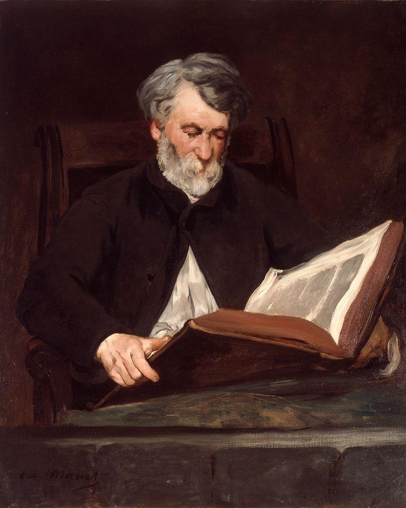 konfigurieren des Kunstdrucks in Wunschgröße The Reader von Manet, Edouard