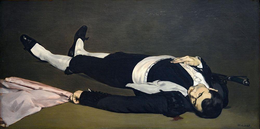 konfigurieren des Kunstdrucks in Wunschgröße The Dead Toreador von Manet, Edouard