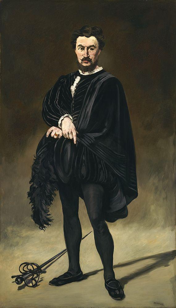 konfigurieren des Kunstdrucks in Wunschgröße The Tragic Actor von Manet, Edouard