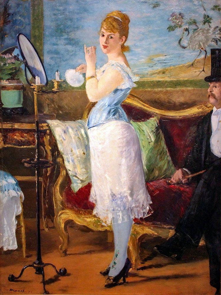 konfigurieren des Kunstdrucks in Wunschgröße Nana von Manet, Edouard