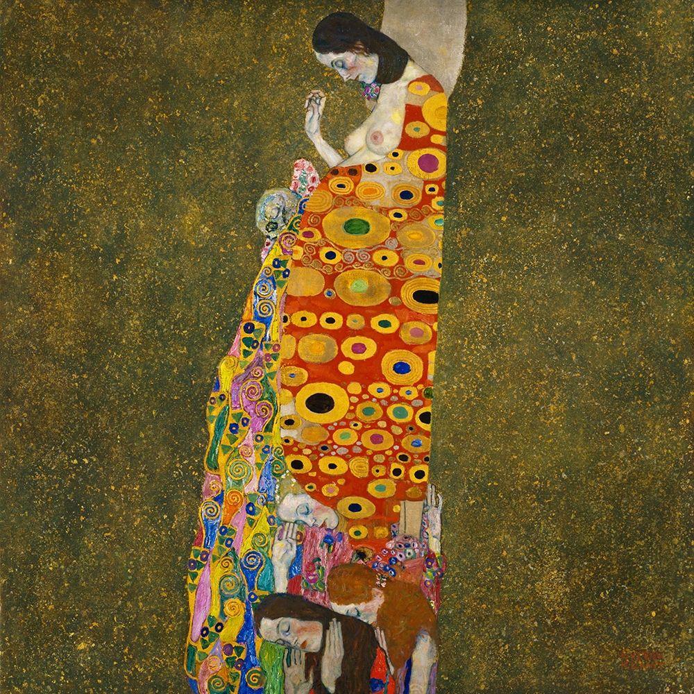 konfigurieren des Kunstdrucks in Wunschgröße Hope, II von Klimt, Gustav