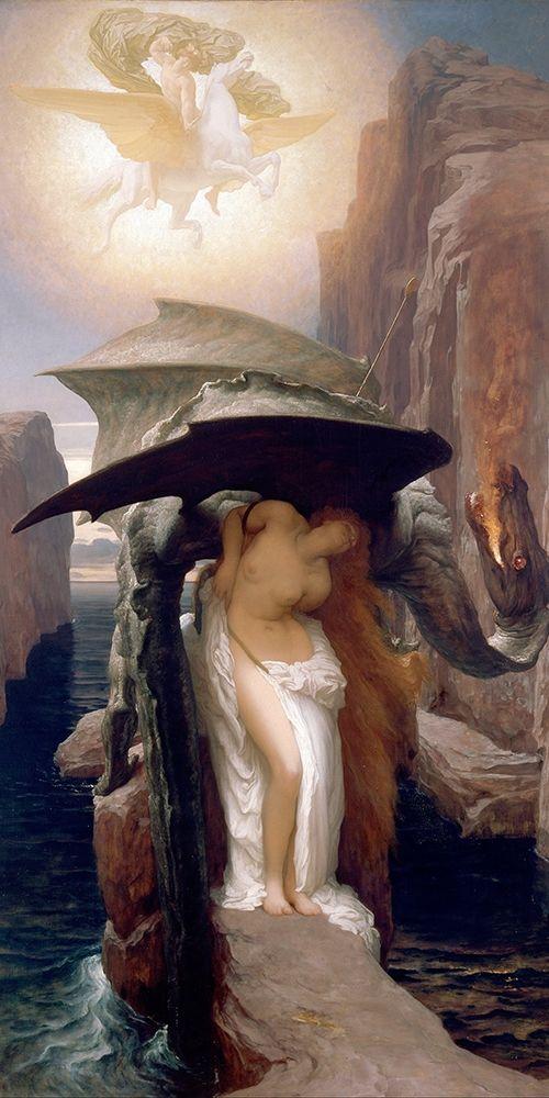 konfigurieren des Kunstdrucks in Wunschgröße Perseus and Andromeda von Leighton, Frederic