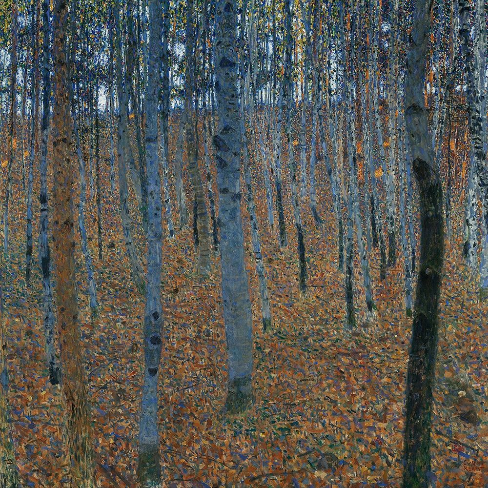 konfigurieren des Kunstdrucks in Wunschgröße Beech Grove I von Klimt, Gustav