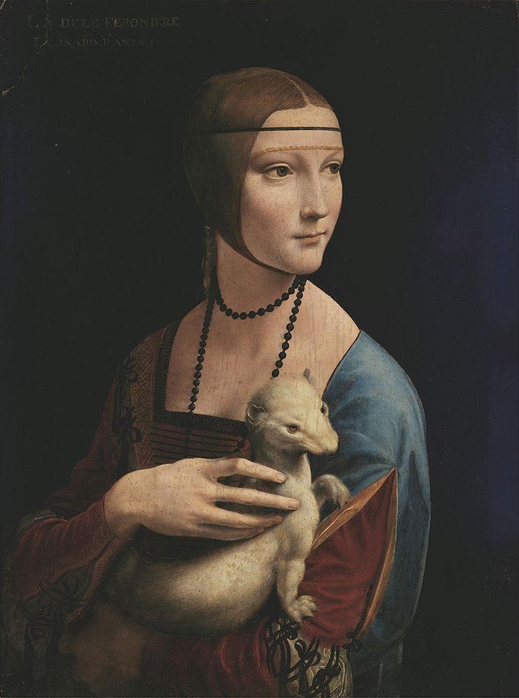 konfigurieren des Kunstdrucks in Wunschgröße Lady with an Ermine von Da Vinci, Leonardo