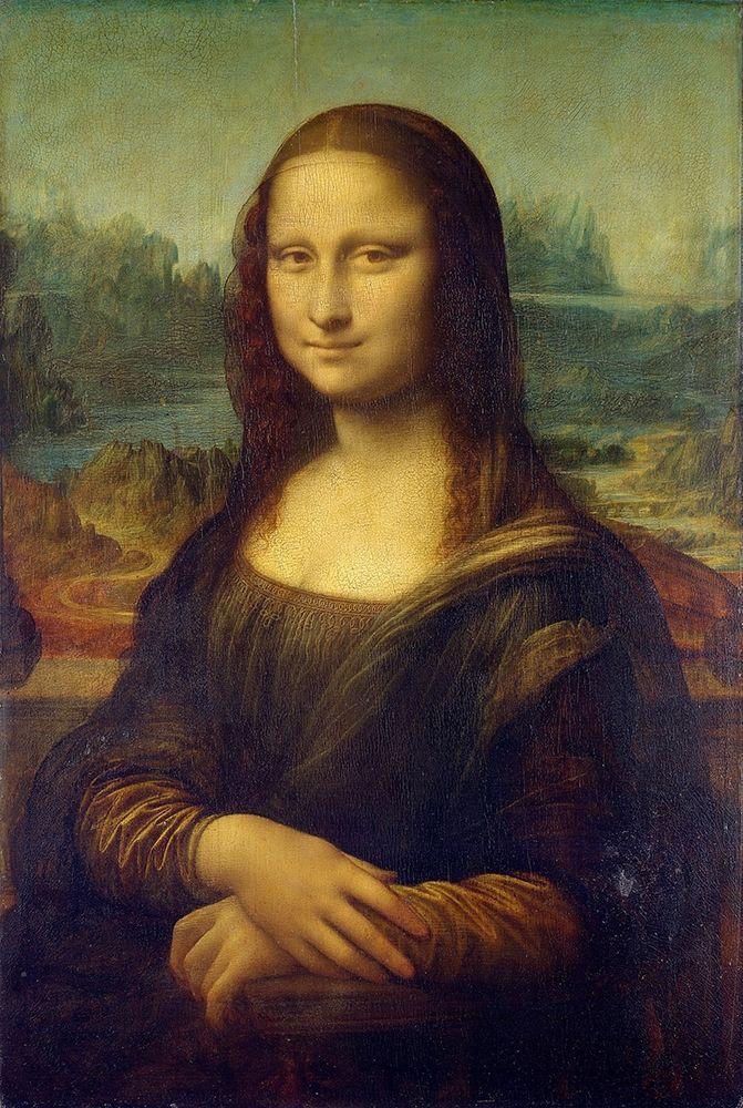 konfigurieren des Kunstdrucks in Wunschgröße Mona Lisa von Da Vinci, Leonardo