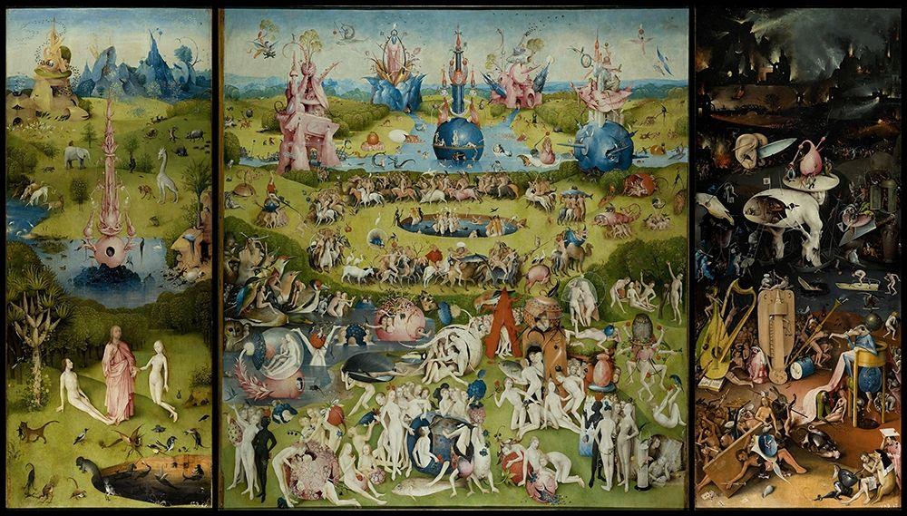 konfigurieren des Kunstdrucks in Wunschgröße The Garden of Earthly Delights von Bosch, Hieronymus