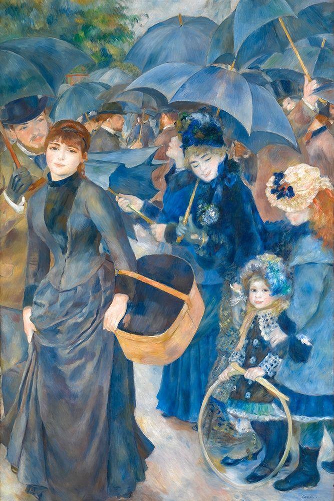 konfigurieren des Kunstdrucks in Wunschgröße The Umbrellas von Renoir, Pierre-Auguste