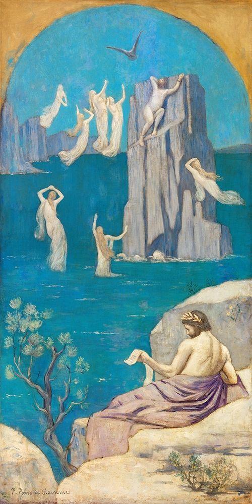 konfigurieren des Kunstdrucks in Wunschgröße Dramatic Poetry Aeschylus 1896 von Renoir, Pierre-Auguste