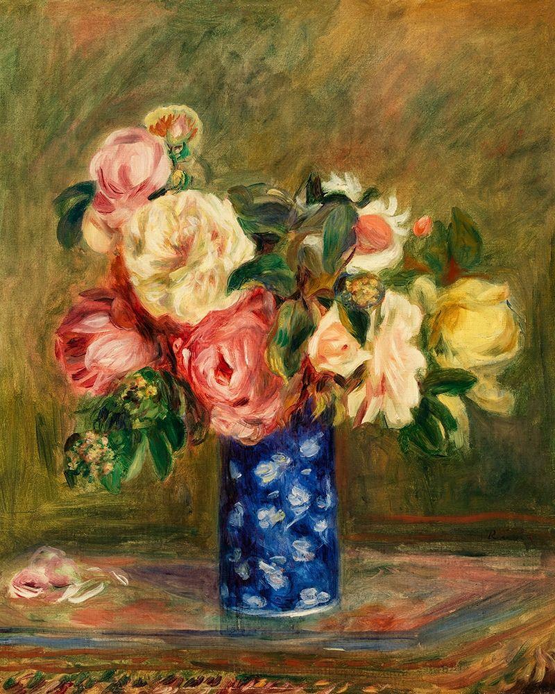 konfigurieren des Kunstdrucks in Wunschgröße Bouquet of Roses 1882 von Renoir, Pierre-Auguste
