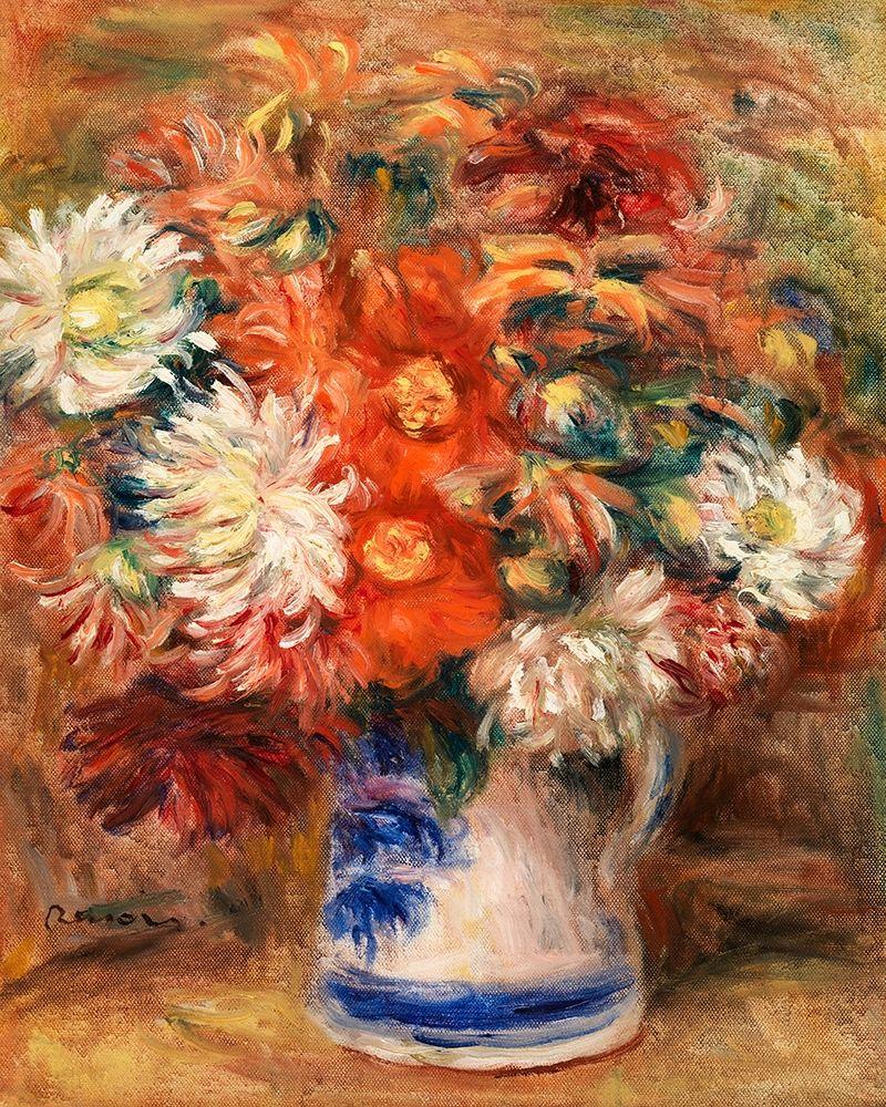 konfigurieren des Kunstdrucks in Wunschgröße Bouquet 1919 von Renoir, Pierre-Auguste