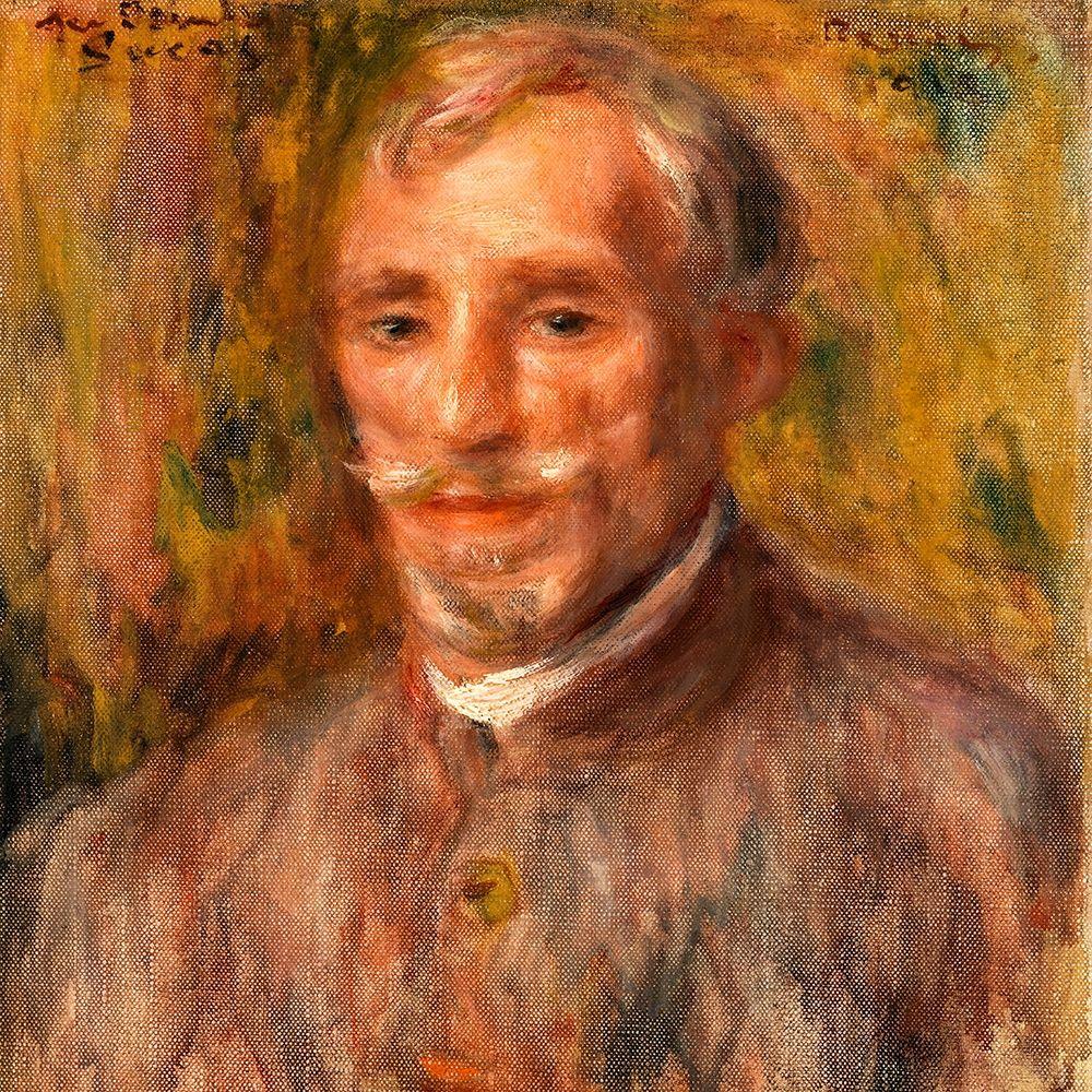 konfigurieren des Kunstdrucks in Wunschgröße Portrait of Felix Hippolyte Lucas 1918 von Renoir, Pierre-Auguste