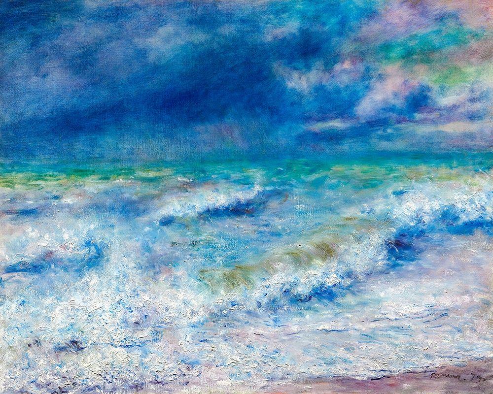 konfigurieren des Kunstdrucks in Wunschgröße Seascape 1897 von Renoir, Pierre-Auguste