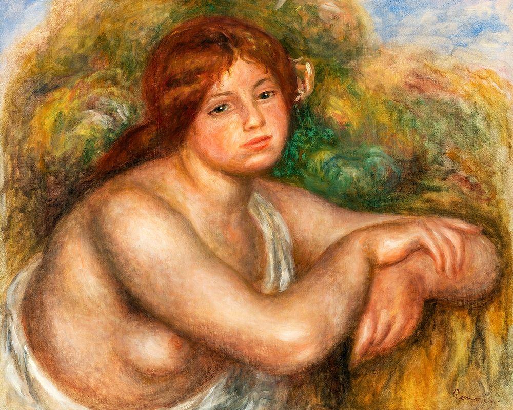 konfigurieren des Kunstdrucks in Wunschgröße Nude Study, Bust of a Woman 1910 von Renoir, Pierre-Auguste