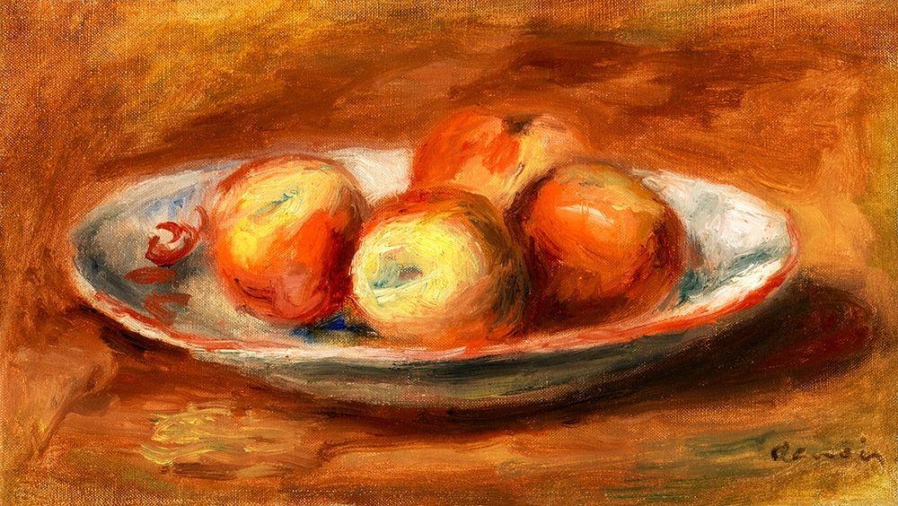 konfigurieren des Kunstdrucks in Wunschgröße Apples 1914 von Renoir, Pierre-Auguste