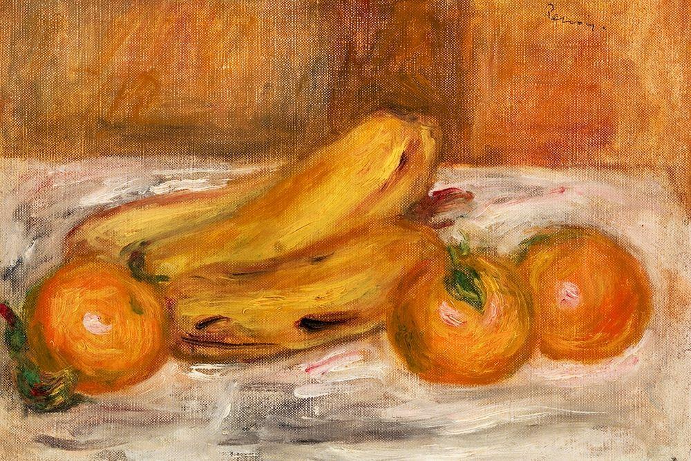 konfigurieren des Kunstdrucks in Wunschgröße Oranges and Bananas 1913 von Renoir, Pierre-Auguste