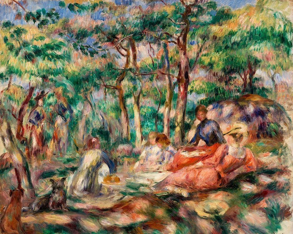 konfigurieren des Kunstdrucks in Wunschgröße Picnic 1893 von Renoir, Pierre-Auguste