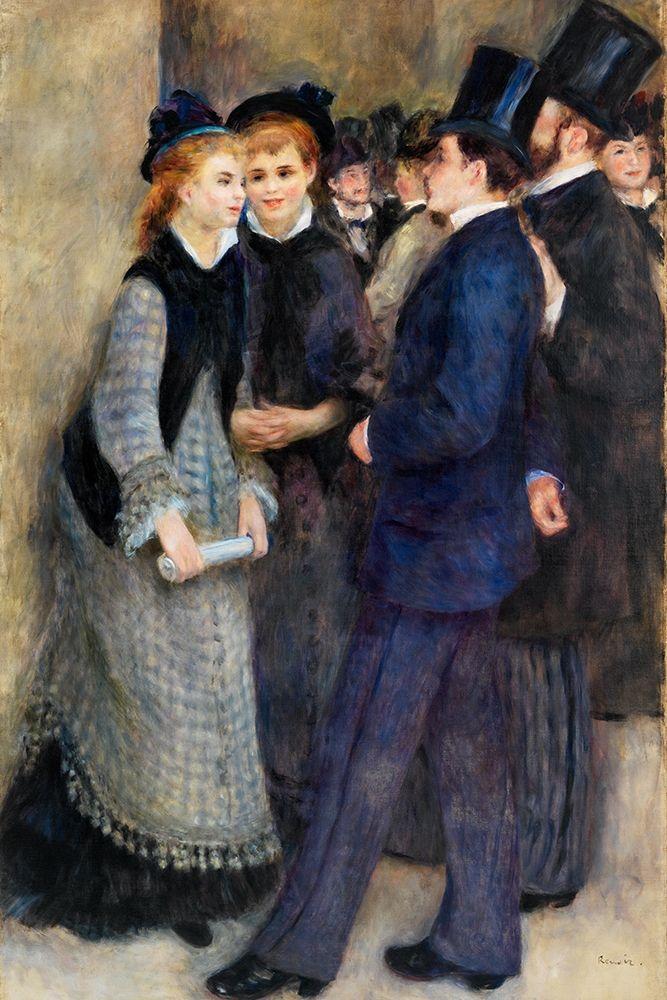 konfigurieren des Kunstdrucks in Wunschgröße Leaving the Conservatory von Renoir, Pierre-Auguste