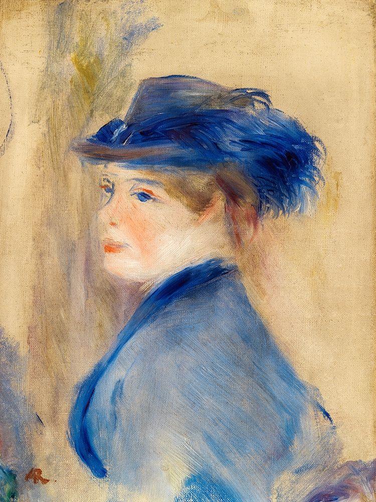 konfigurieren des Kunstdrucks in Wunschgröße Bust of a Woman 1875 von Renoir, Pierre-Auguste