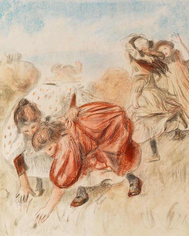 konfigurieren des Kunstdrucks in Wunschgröße Children Playing Ball 1900 von Renoir, Pierre-Auguste