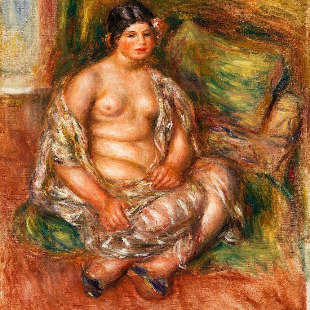 konfigurieren des Kunstdrucks in Wunschgröße Seated Odalisque 1918 von Renoir, Pierre-Auguste