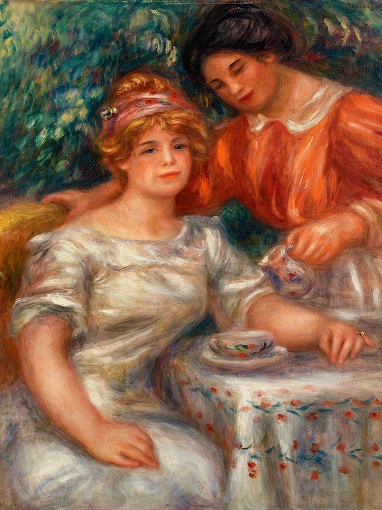 konfigurieren des Kunstdrucks in Wunschgröße Tea Time 1911 von Renoir, Pierre-Auguste