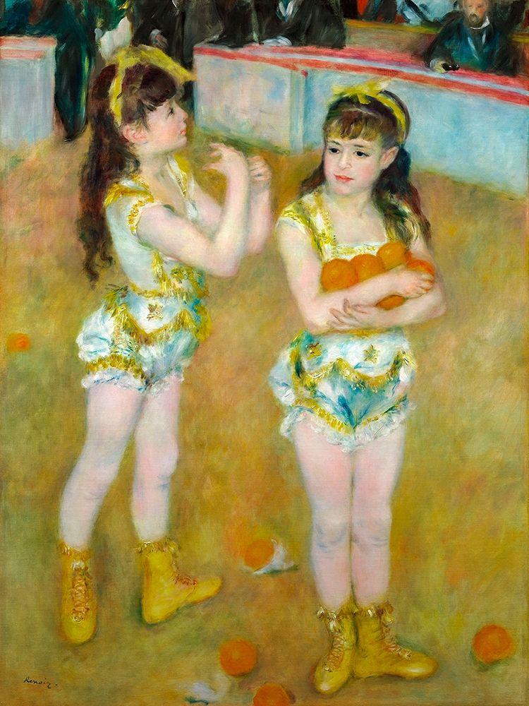 konfigurieren des Kunstdrucks in Wunschgröße Acrobats at the Cirque Fernando 1879 von Renoir, Pierre-Auguste