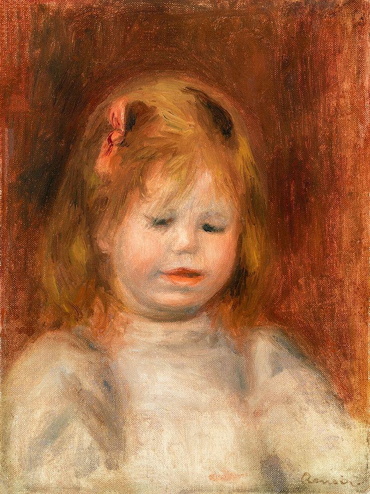 konfigurieren des Kunstdrucks in Wunschgröße Portrait of Jean Renoir 1897 von Renoir, Pierre-Auguste