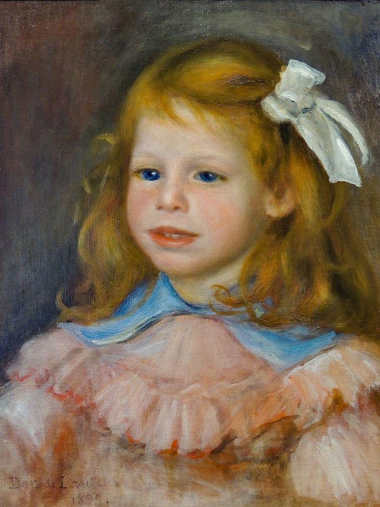 konfigurieren des Kunstdrucks in Wunschgröße Portrait of Jean von Renoir, Pierre-Auguste