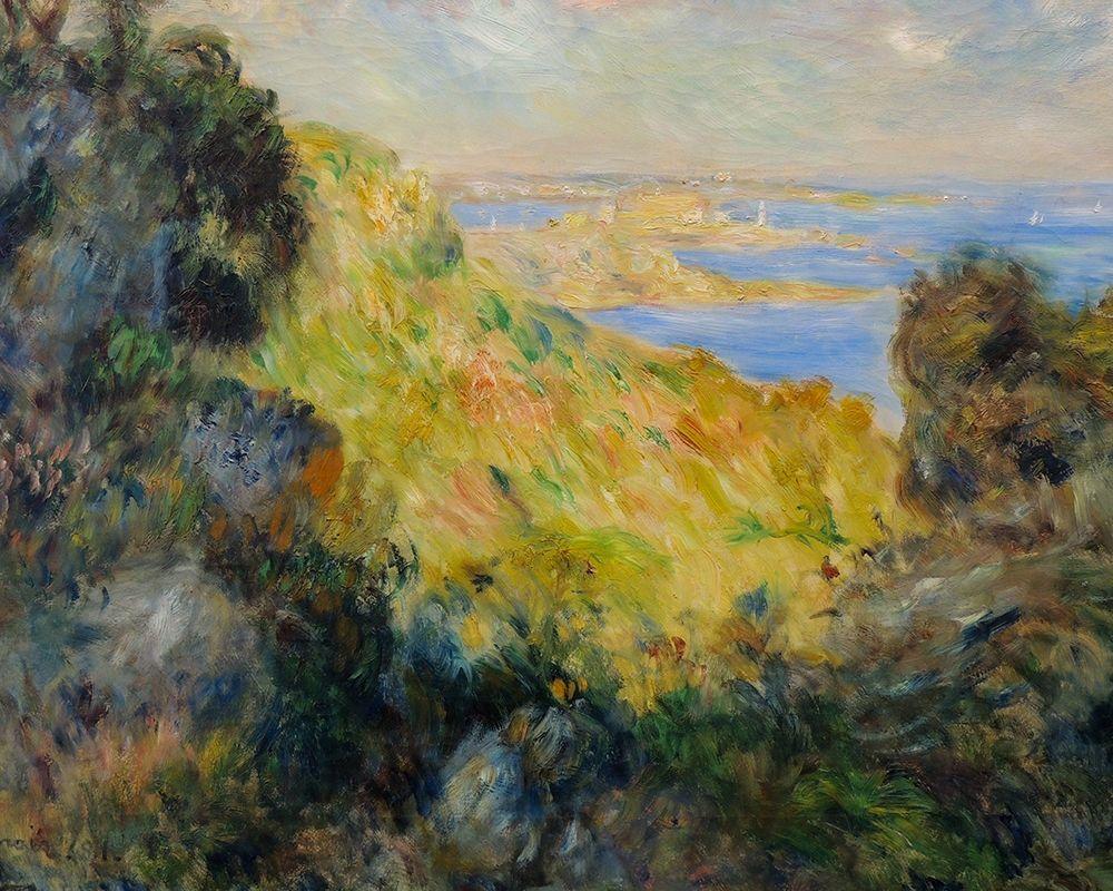 konfigurieren des Kunstdrucks in Wunschgröße Bay of Salerne von Renoir, Pierre-Auguste