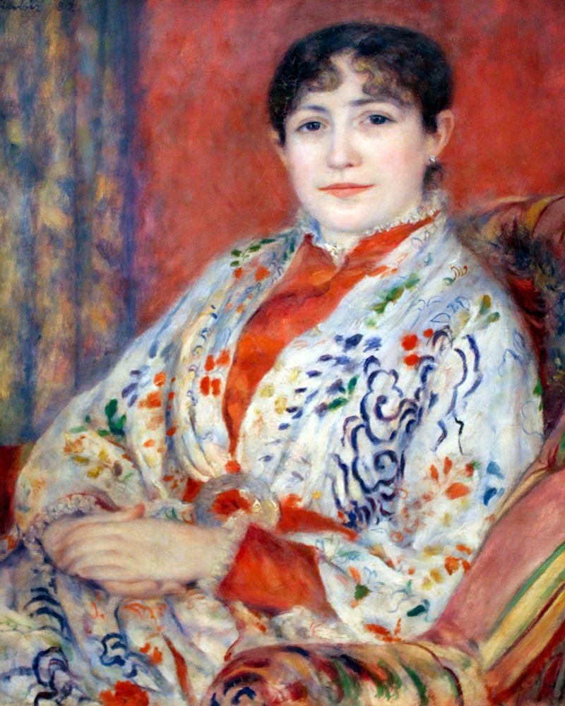 konfigurieren des Kunstdrucks in Wunschgröße Portrait of Madame Henriot von Renoir, Pierre-Auguste